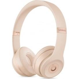 MR3Y2ZM/A Beats Solo3 Wireless On-Ear Headphones, Matt Gold