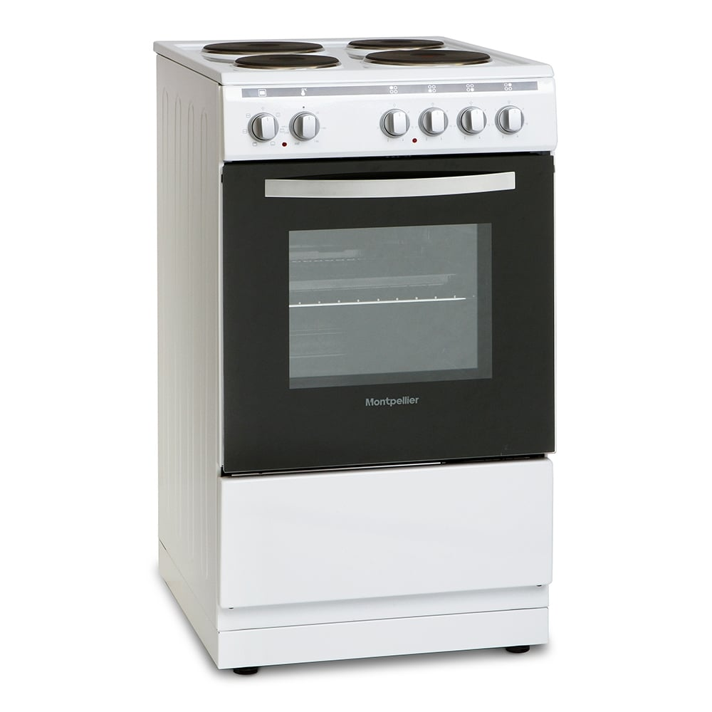 Home Electric Cooker ~ Montpellier mse w single cavity electric cooker white
