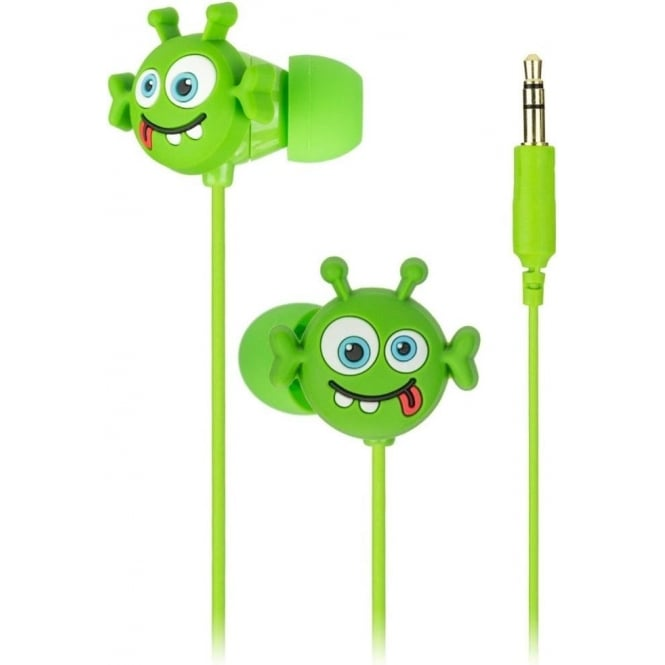 My Doodles DDALIBUD Alien In-ear Headphones