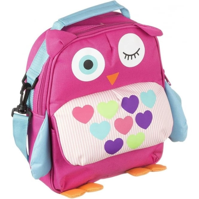 My Doodles DDBPOWL Owl Backpack with Interior Sleeve for 6-8 inch Tablets