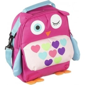 DDBPOWL Owl Backpack with Interior Sleeve for 6-8 inch Tablets