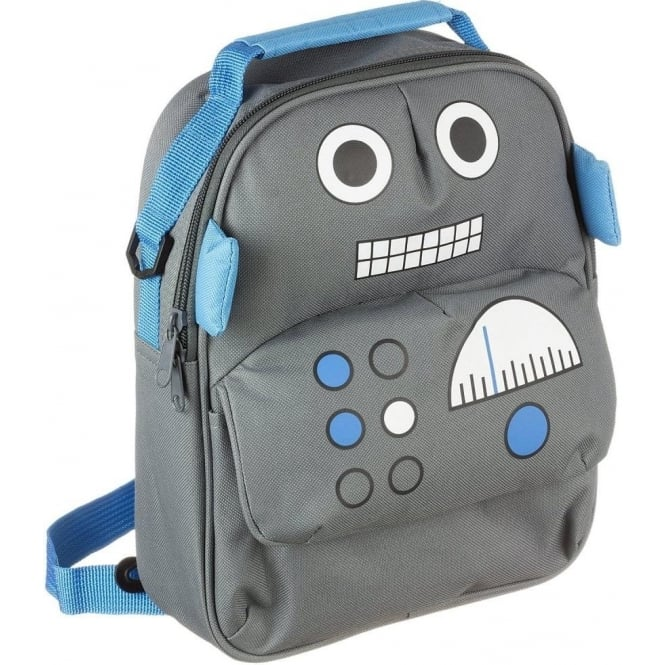 My Doodles DDBPROB Robot Backpack with Interior Sleeve for 6-8 inch Tablets