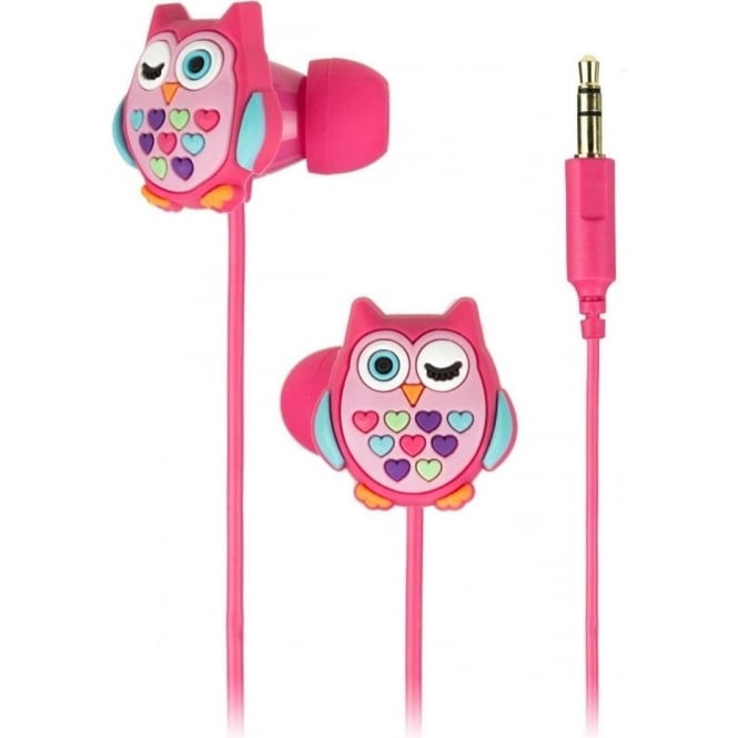 My Doodles DDOWLBUD Owl In Ear Headphones