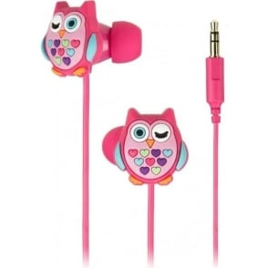 DDOWLBUD Owl In Ear Headphones