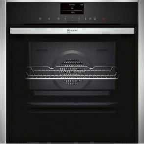 B57VS24N0B Electric Single Oven with Steam, Stainless Steel