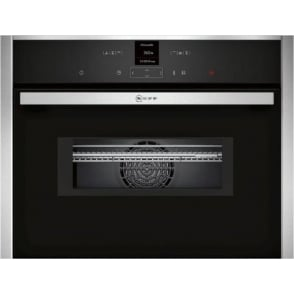 C17MR02N0B Compact Oven with Microwave, Stainless Steel