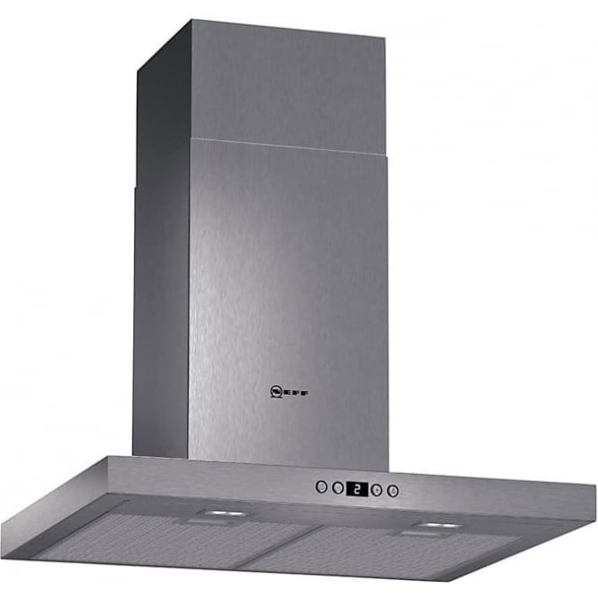 Neff D76SH52N0B 60cm Chimney Cooker Hood, Stainless Steel