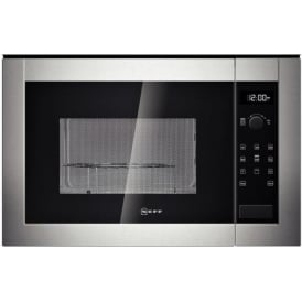 H12GE60N0G Built-in Microwave with Grill, Stainless Steel