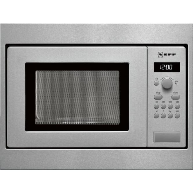 Neff H53W50N3GB Microwave Oven, Stainless Steel