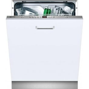 S51L53X0GB Fully Integrated Standard Dishwasher, Stainless Steel