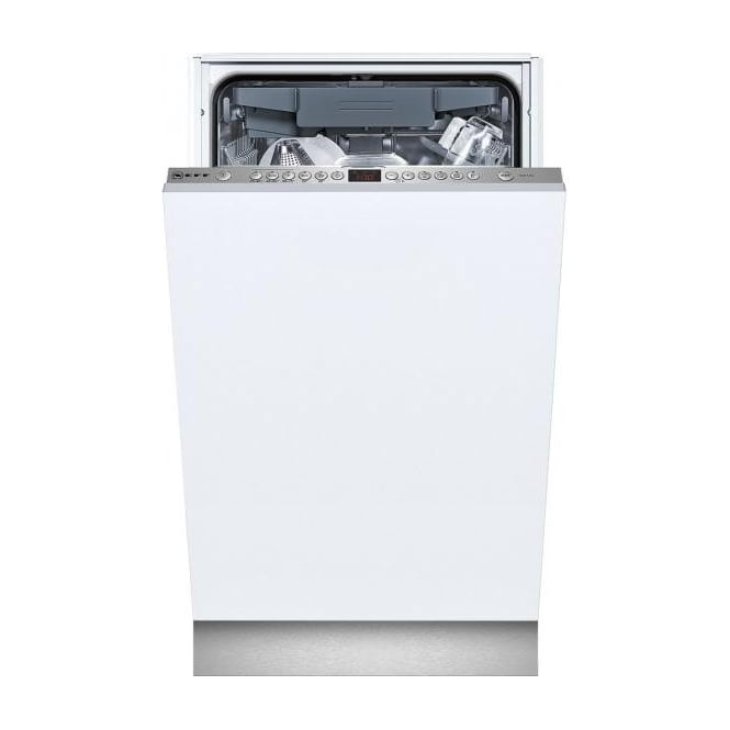 Neff S58T69X1GB 45cm Slimline Fully Integrated Dishwasher, 10 Place Settings
