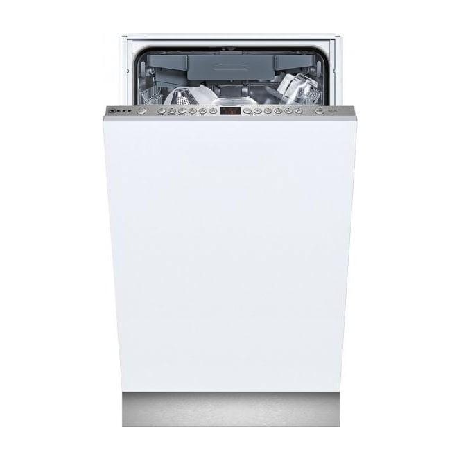 Neff S58T69X1GB 45cm Slimline Fully Integrated Dishwasher, 10 Place Settings