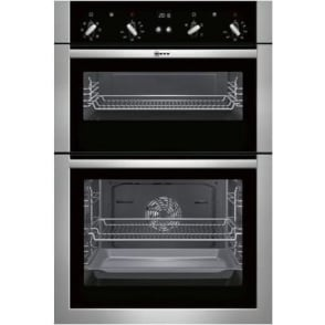 U14M42N5GB Double Built-In Oven, Stainless Steel