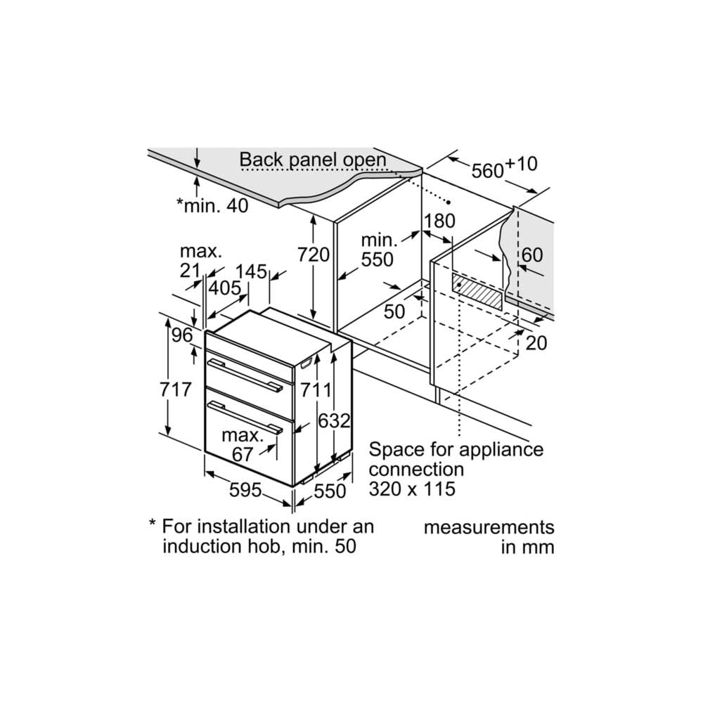 neff double oven installation instructions
