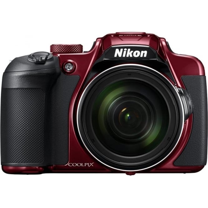 Nikon B700 Coolpix Compact System Camera, Red