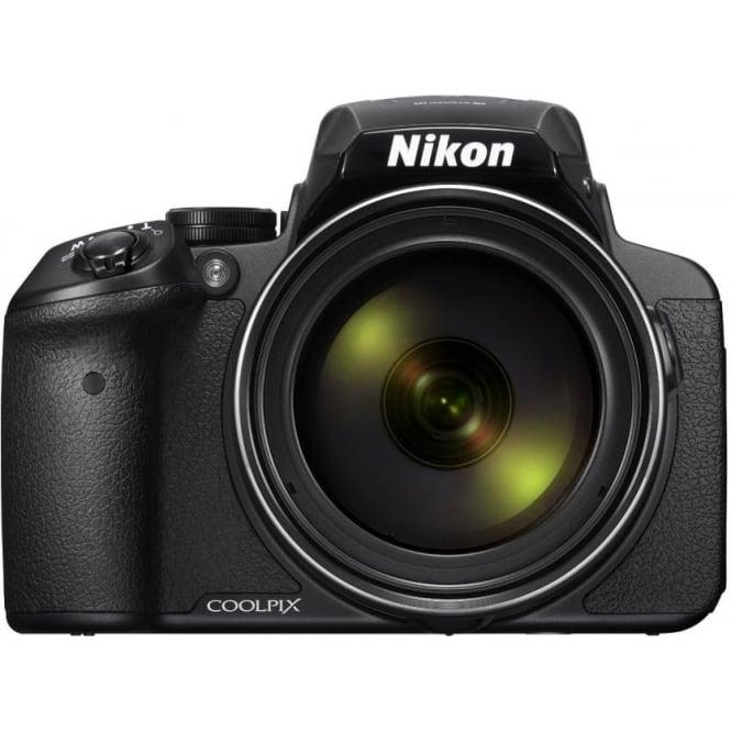 Nikon COOLPIX P900 Digital Camera - Black (16.0 MP CMOS sensor, 83x Zoom) 3-Inch LCD Screen