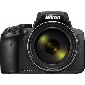 COOLPIX P900 Digital Camera - Black (16.0 MP CMOS sensor, 83x Zoom) 3-Inch LCD Screen