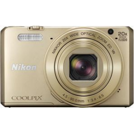 Coolpix S7000 Compact Digital Camera, Gold
