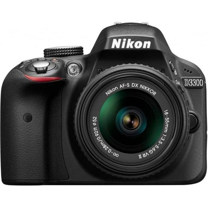 Nikon D3300 18-55 Kit, Black