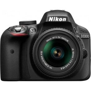D3300 18-55 Kit, Black
