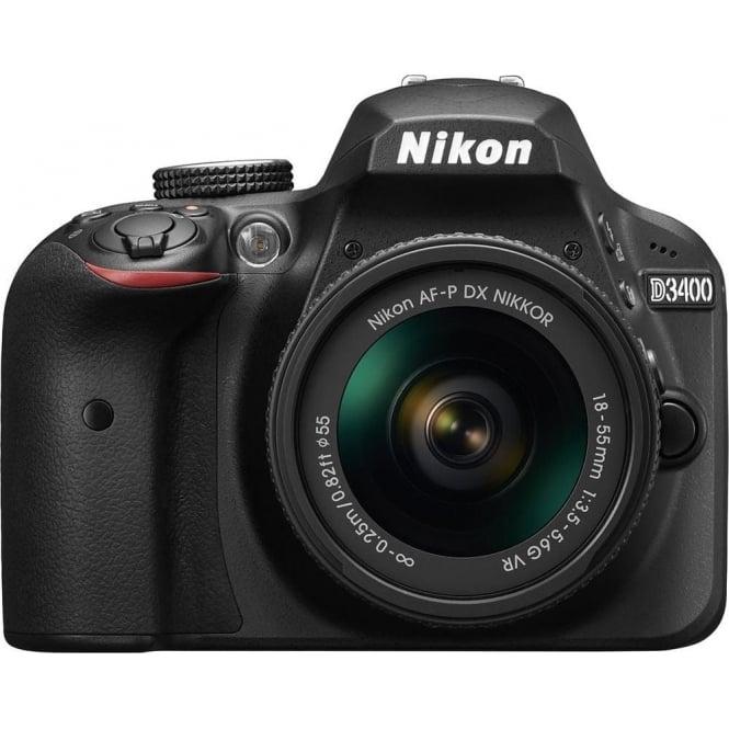 Nikon D3400 DSLR Camera AF-P 18-55mm VR KIT