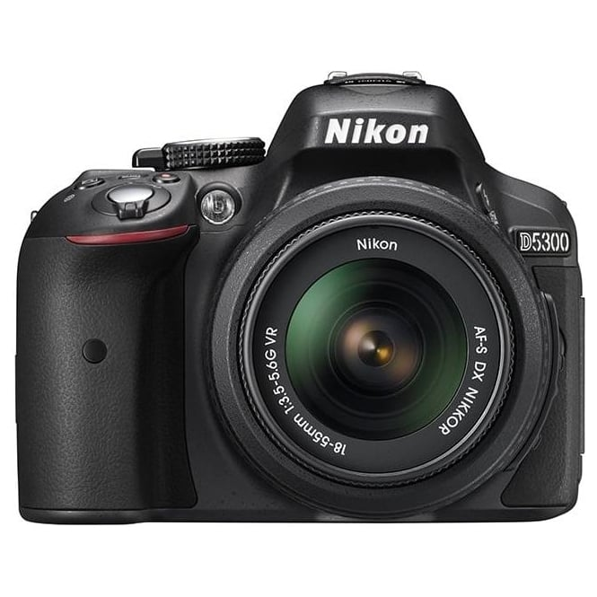 Nikon D5300 DSLR Camera with 18-55 mm VR II Telephoto Zoom Lens