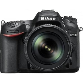 D7200 DSLR Camera with 18-105 mm