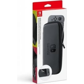 Switch Accessory Set (carrying case + LCD protection sheet)