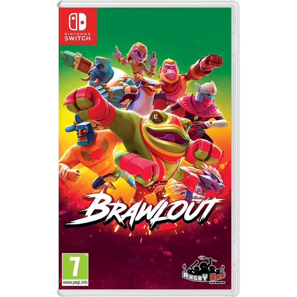 Nintendo Switch Grey Adventure Time: Pirates of the Enchiridion, Brawlout &  Stealth Grip and Control Pack