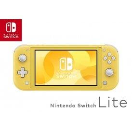 Nintendo Switch Lite Handheld Console, Yellow