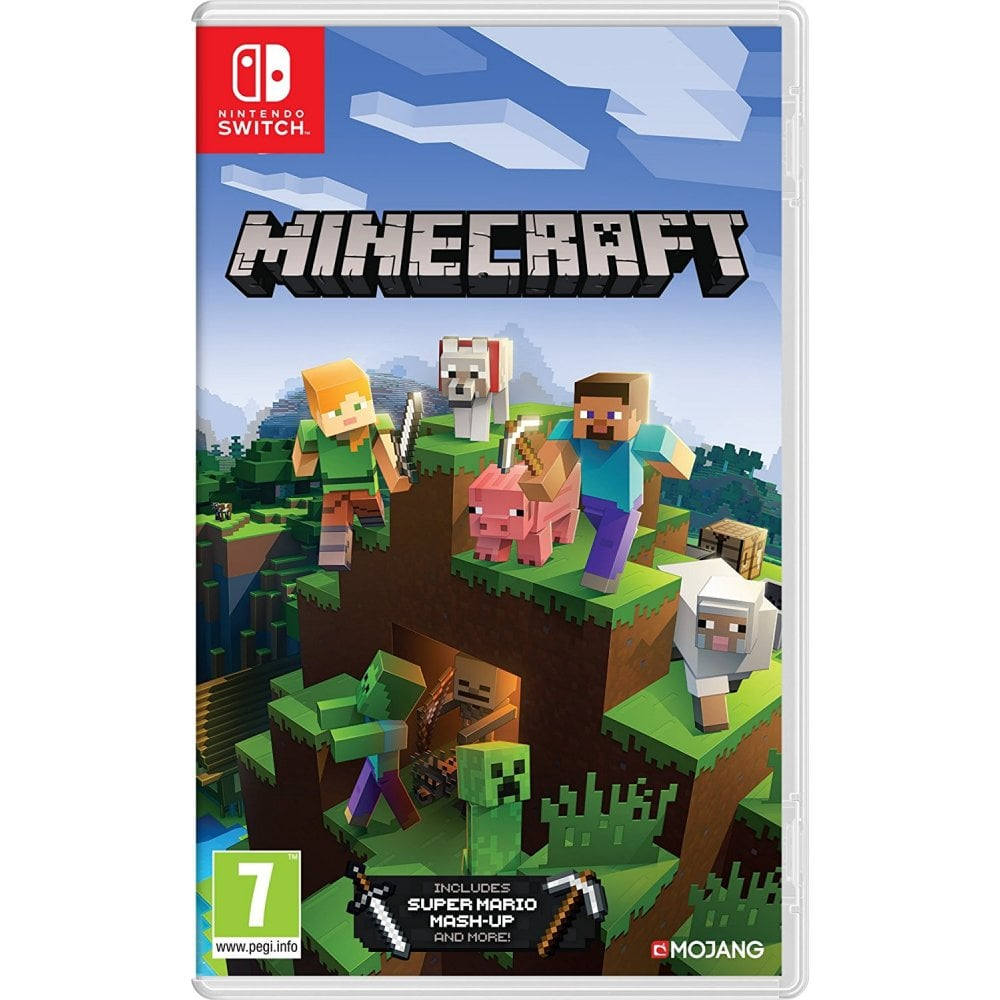 Nintendo Switch Minecraft Bedrock Edition Sound Vision From