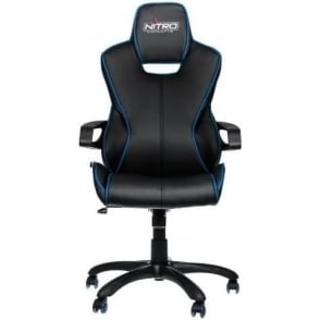 E200 Race Series Gaming Chair   Black/Blue