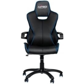 E200 Race Series Gaming Chair - Black/Blue
