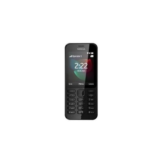 "Nokia 222 2.4"" Mobile Phone, Black"