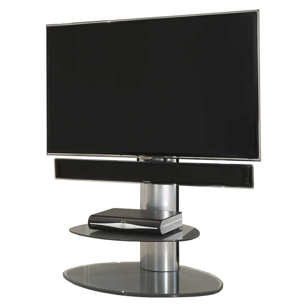 Off The Wall Off The Wall Motion Silver Cantilever Tv Stand