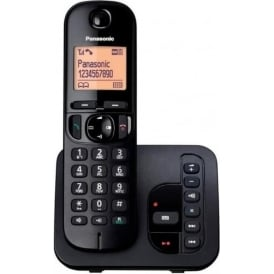 KXTGC220EB Cordless DECT Telephone with Answerphone