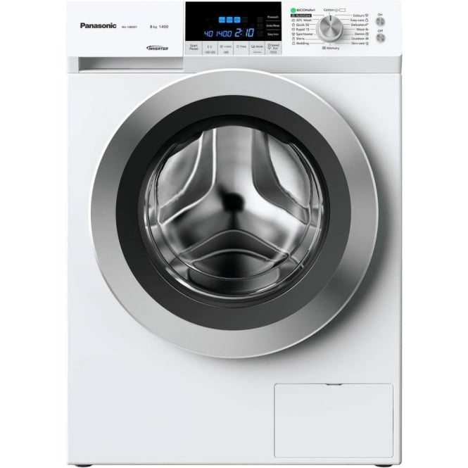 Panasonic NA-148XR1WGB 8kg 1400 Spin Washing Machine, White