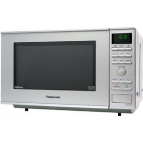 NN-CF760MBPQ 1000W Flatbed Combination Microwave Oven, Silver
