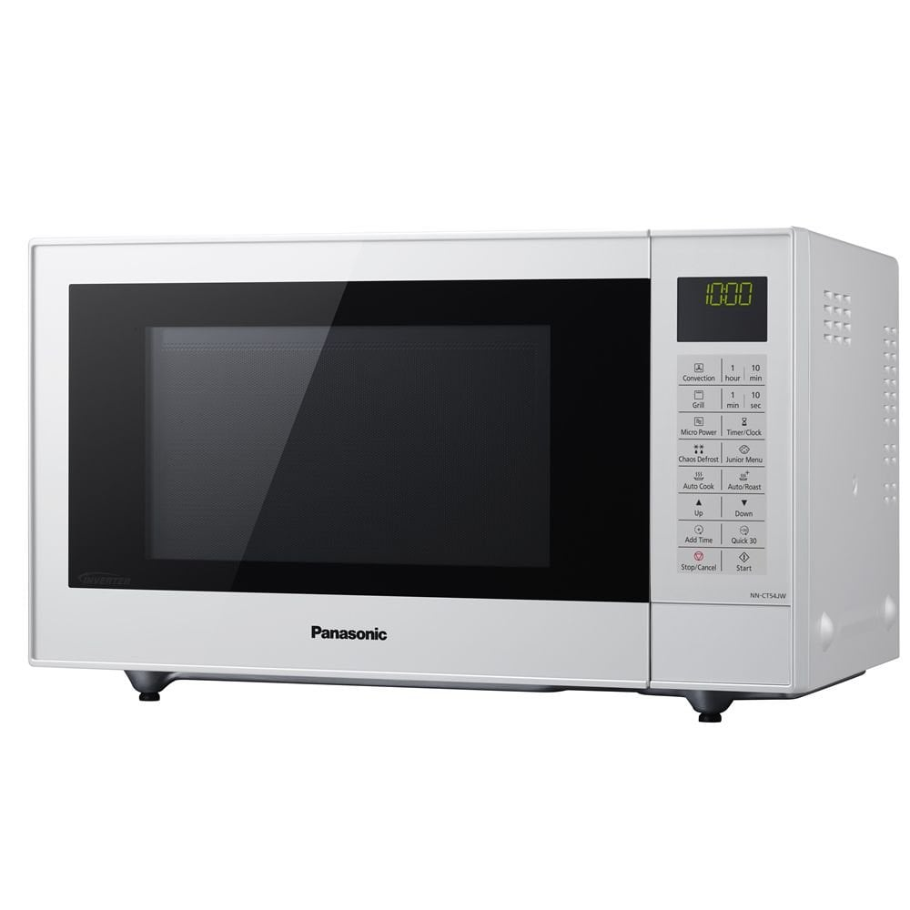 Nnct54jwbpq 1000w 27l 29 Auto Programs Combination Microwave White