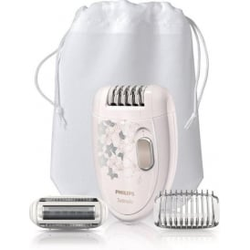 HP6423/02 Satinelle Legs and Body Epilator with Shaving Head
