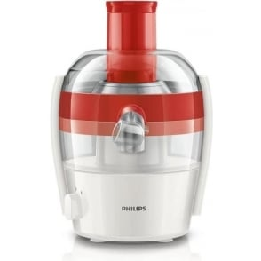 HR1832/41 Viva Collection Compact Juicer, Red
