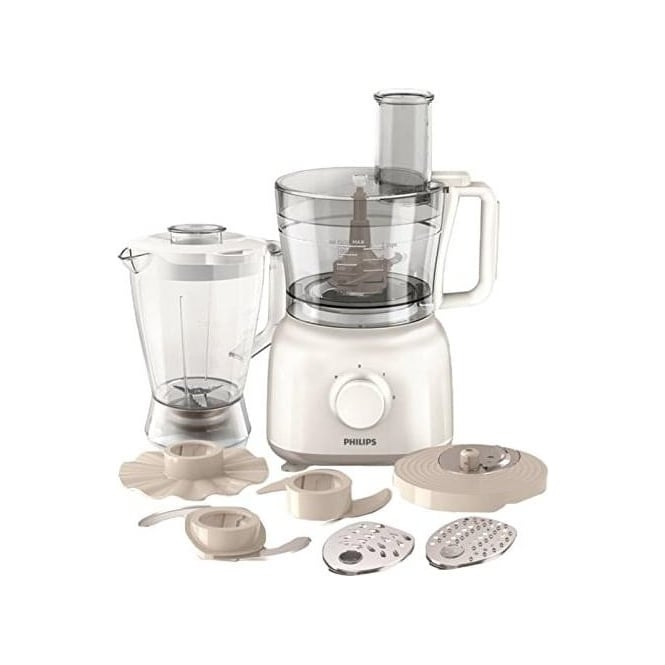 Philips HR7628/01 Daily Collection Food processor HR7628/01 650 W Compact 2 in 1 setup 2.1 L bowl Accessories for + 25 functions