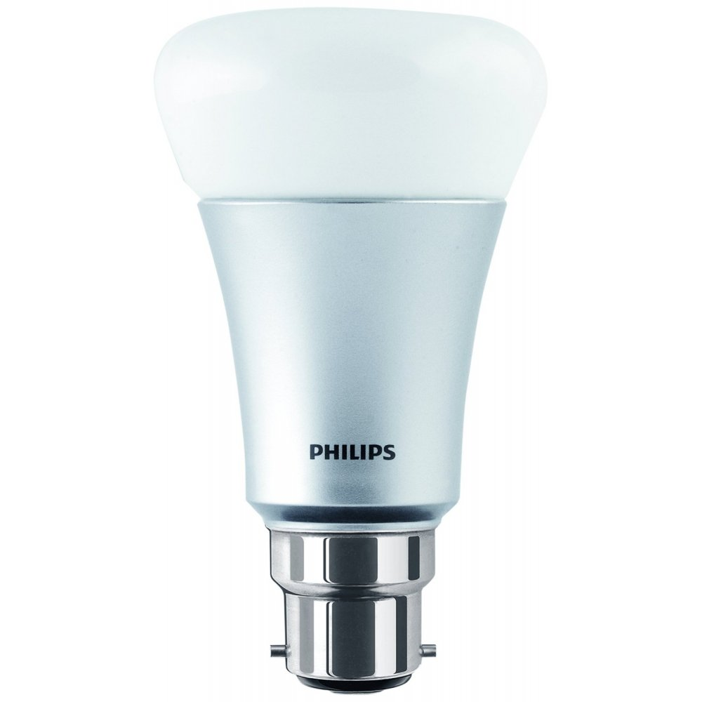 philips hue personal wireless lighting single led light bulb 1 x b22 philips from powerhouse. Black Bedroom Furniture Sets. Home Design Ideas