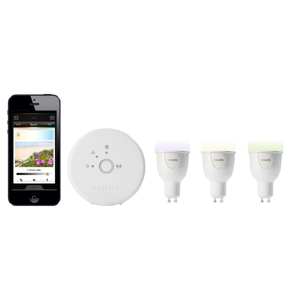 Philips hue personal wireless lighting starter pack 3 x - Philips hue starter kit ...