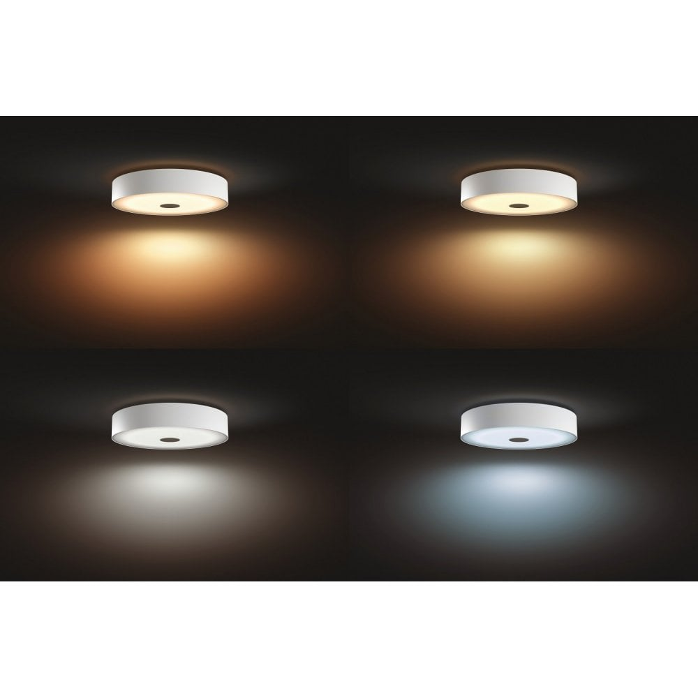 sports shoes c5025 62155 Philips Hue White Ambience Fair Dimmable LED Smart Flush Ceiling Light