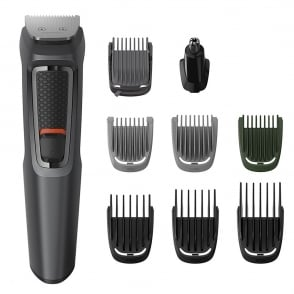 MG3747/13 Series 3000 9-in-1 Grooming Kit for Face, Beard & Body
