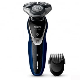 Series 5000 S5572/40 Wet and Dry Men's Electric Shaver with Turbo Plus Mode and Beard Trimmer