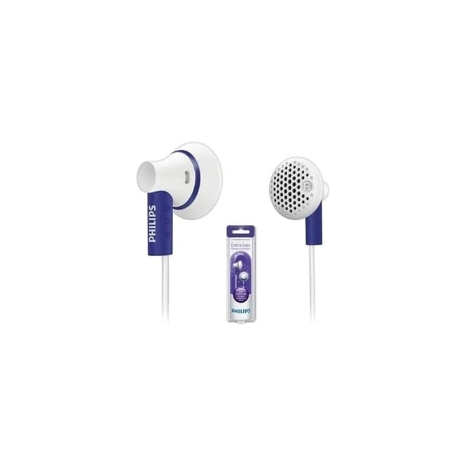 Philips SHE3000PP1 In-ear Headphones, Purple