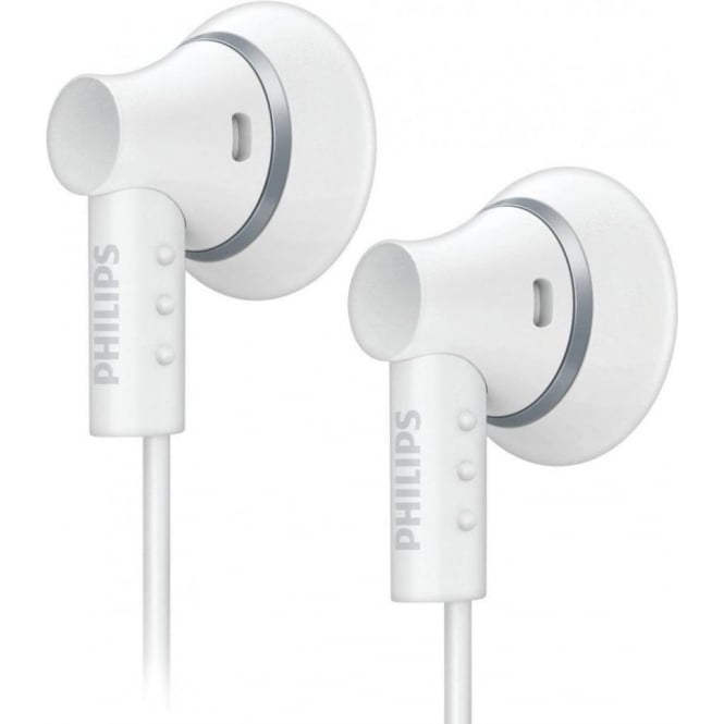 Philips SHE3000WT10 In-Ear Headphones, White