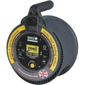 4 Gang 15m Extension Reel with Thermal Cut-Out